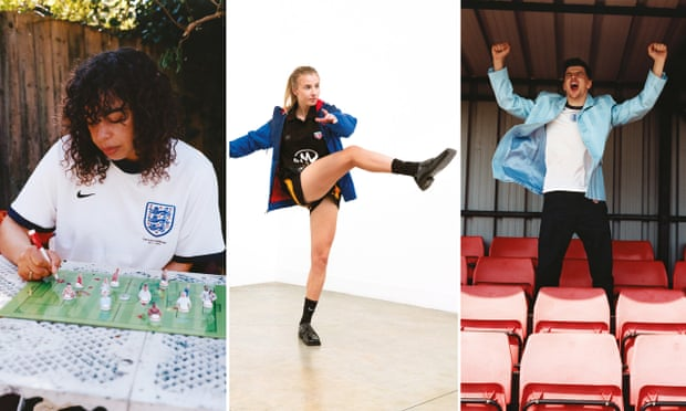 She scores! A first look at Martine Rose's new England shirt