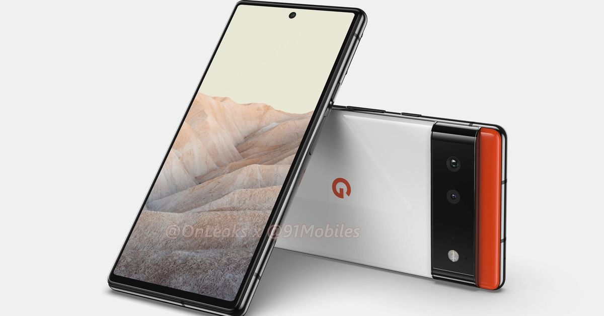 Smaller Pixel 6 leaks with flat screen and fewer cameras